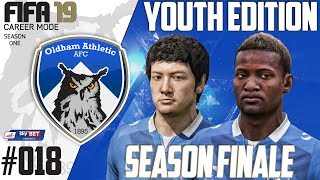 Fifa 19 Career Mode  - Youth Edition - Oldham Athletic - Season 1 EP 18 - SEASON FINALE