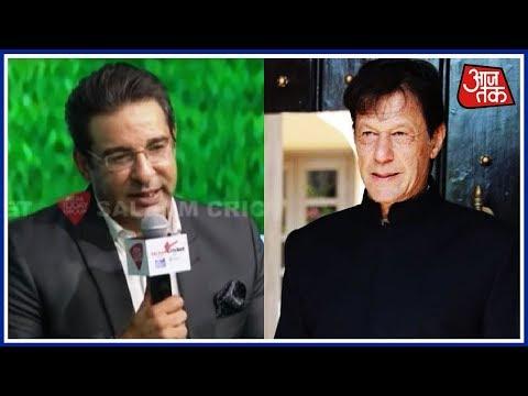 Wasim Akram's Take On Imran Khan Becoming Pakistan Prime Minister | Salaam Cricket 2018