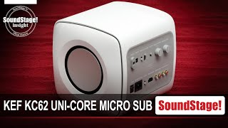 KEF's KC62 Uni-Core Micro Subwoofer Explained - SoundStage! InSight (March 2021)