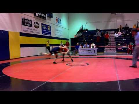 2014 Ontario Juvenile Championships: 52 kg Maddison Braga vs. Julia Lei