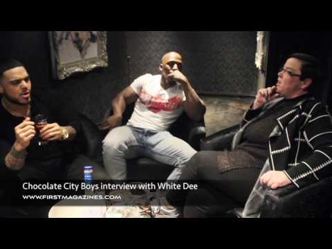 FIRST MAGAZINE CHOCOLATE CITY BOYS INTERVIEW BY WHITE DEE