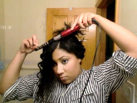 how to use conair infiniti curling wand