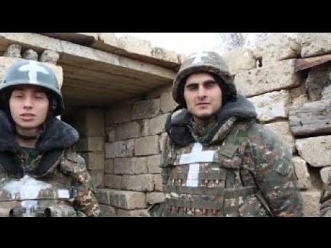 Почему армянские воины в Карабахе рисуют на своей форме христианские кресты
