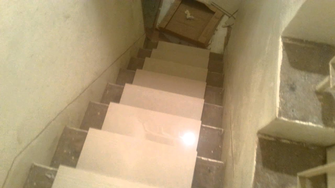 Tile Installation On Stairs Part 1   YouTube