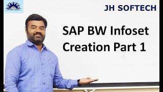 SAP BW Infoset الخلق الجزء 1