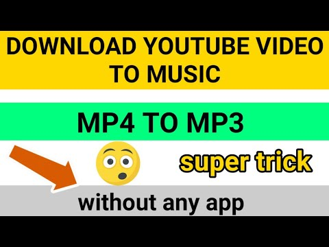 How To Download YouTube Video To Mp3 2019 || GAMING AND TECH