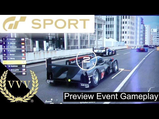 GT Sport Gameplay Audi R18 Tokyo Expressway