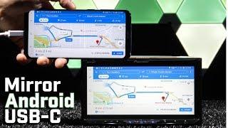 Ayna Android Cihazlar Ekran nasıl HDMI bağlantı Noktası veya RCA AV Girişi