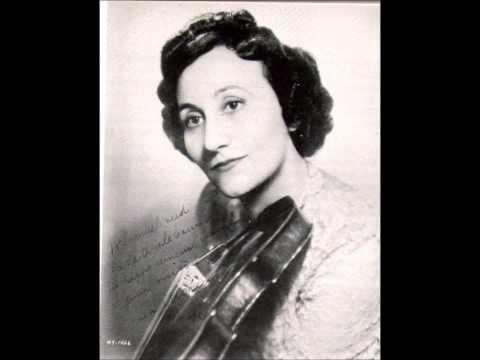 """Erica Morini """"Violin Concerto"""" Tchaikovsky"""