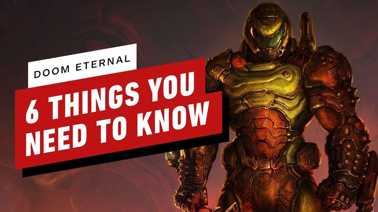 6 cosas que debes saber sobre Doom Eternal + vídeo