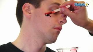 Zombie Makeup - How to Make Fake Blood