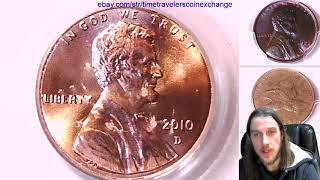 Coin Video of 2010 D Lincoln Shield Cent PCGS MS 65 RD 16169593 Video