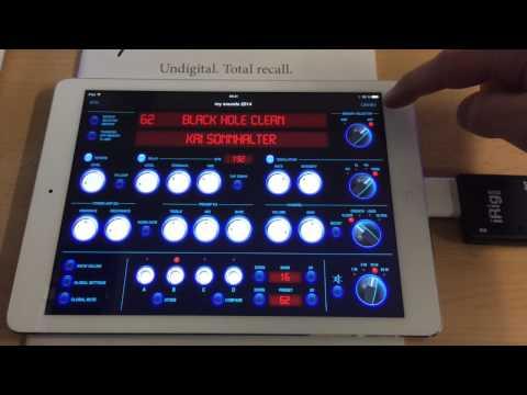 GrandMeister 36 iPad Remote App