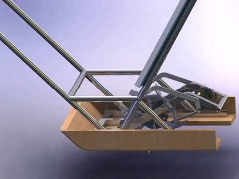 manual rice transplanter animation