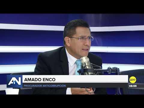 """Amado Enco respaldó a José Domingo Pérez: """"El caso Chinchero se ha avanzado"""""""