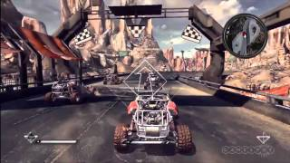 Rage - Beginning Racing - Playthrough Gameplay Movie (Xbox 360)