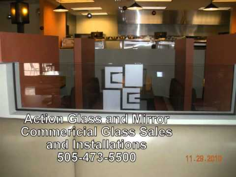 Glass Santa Fe - Action Glass and Mirror Santa Fe, NM 505-473-5500.wmv