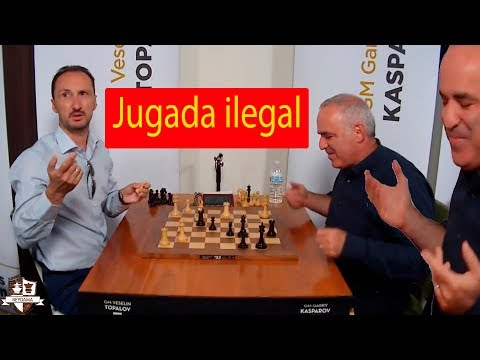 Kasparov se QUEJA: Topalov VS Kasparov Champions Showdown Ronda 5 | Fischer Random ( chess960)