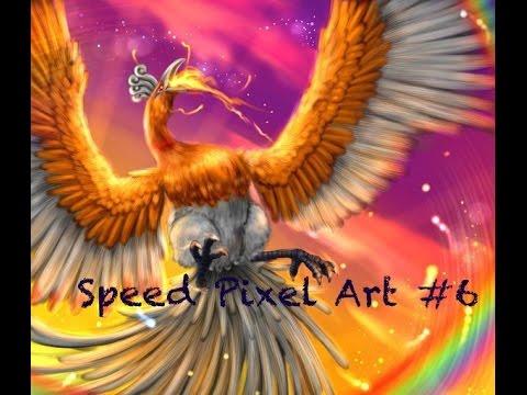 Speed Pixel Art 6 Ho Oh Shiny