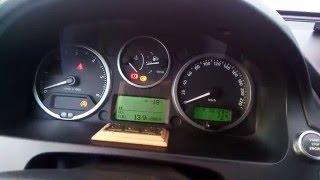 Запуск дизеля в мороз. Land Rover Freelander 2.