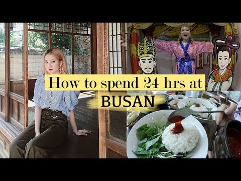 How to Spend 24 hours at Busan (Best Cafe, Eats, Scenery and More) | Q2HAN