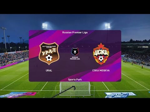 PES 2020   Ural Vs CSKA Moscow - Russia Premier League   29 September 2019   Full Gameplay HD