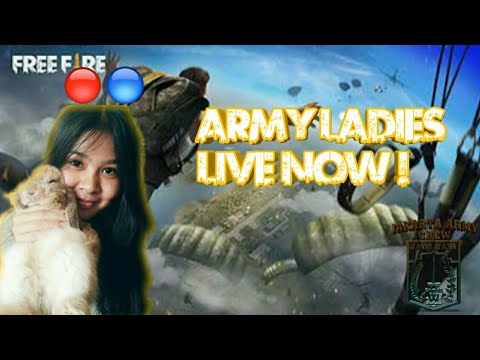 [🔴]JAKARTA ARMY LADIES LIVE?! - FREE FIRE BATTLEGROUNDS