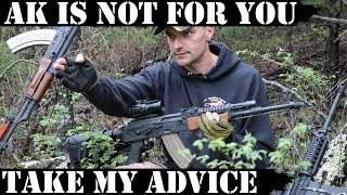 AK is not for you!