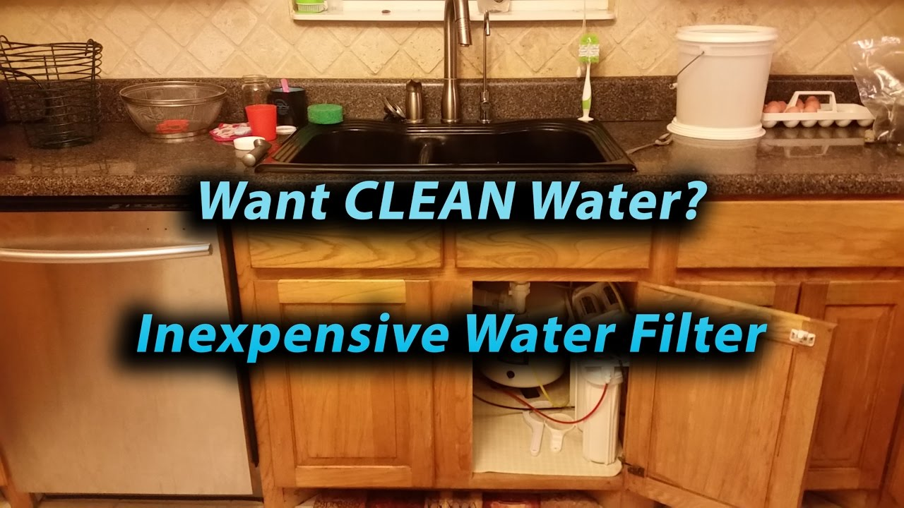 Water Filter Apec Water Filter Roes 50 Review Youtube