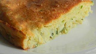 Капустная Запеканка на Сметане кулинарный видео рецепт
