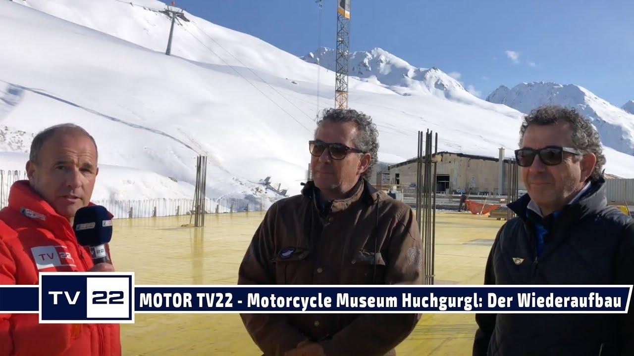 MOTOR TV22: TOP Mountain Motorcycle Museum - Der Wiederaufbau hat begonnen