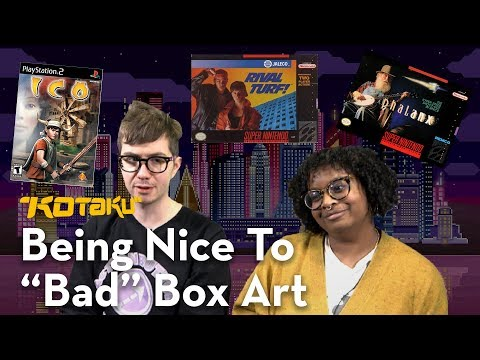 "Gita Jackson & Tim Rogers Compliment ""Bad"" Video Game Box Art!"