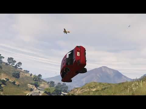 GTA5 driving over the hills