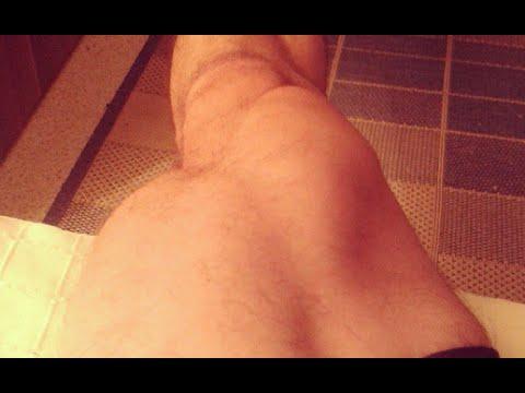 dünne beine mann