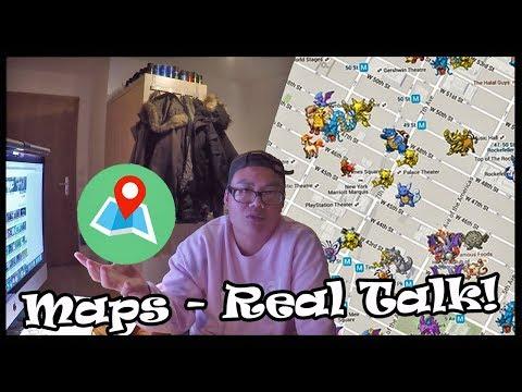 Wir MÜSSEN reden ... über Pokemon Go Maps?! Real Talk! thumbnail