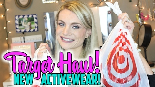 target haul new activewear   february 2017