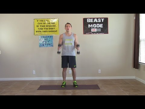 Min Home Bicep Workouts - HASfit Home Biceps Workout - Bicep Exercises - Biceps Workouts
