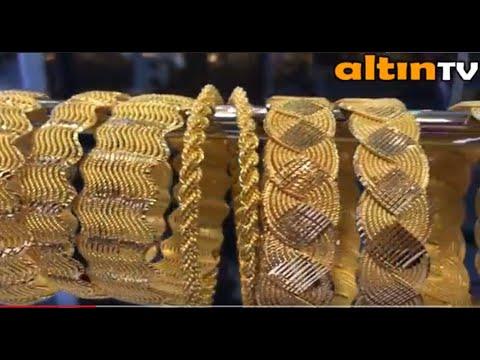 2018 YILINDA EN ÇOK SATAN 22 AYAR BURMA ÖRGÜ BİLEZİK MODELLERİ-BestSelling 22K GOLD BRACELET MODELS