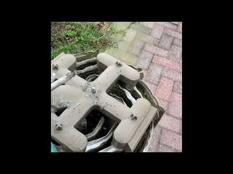 DYI Pool Filter Cleaning