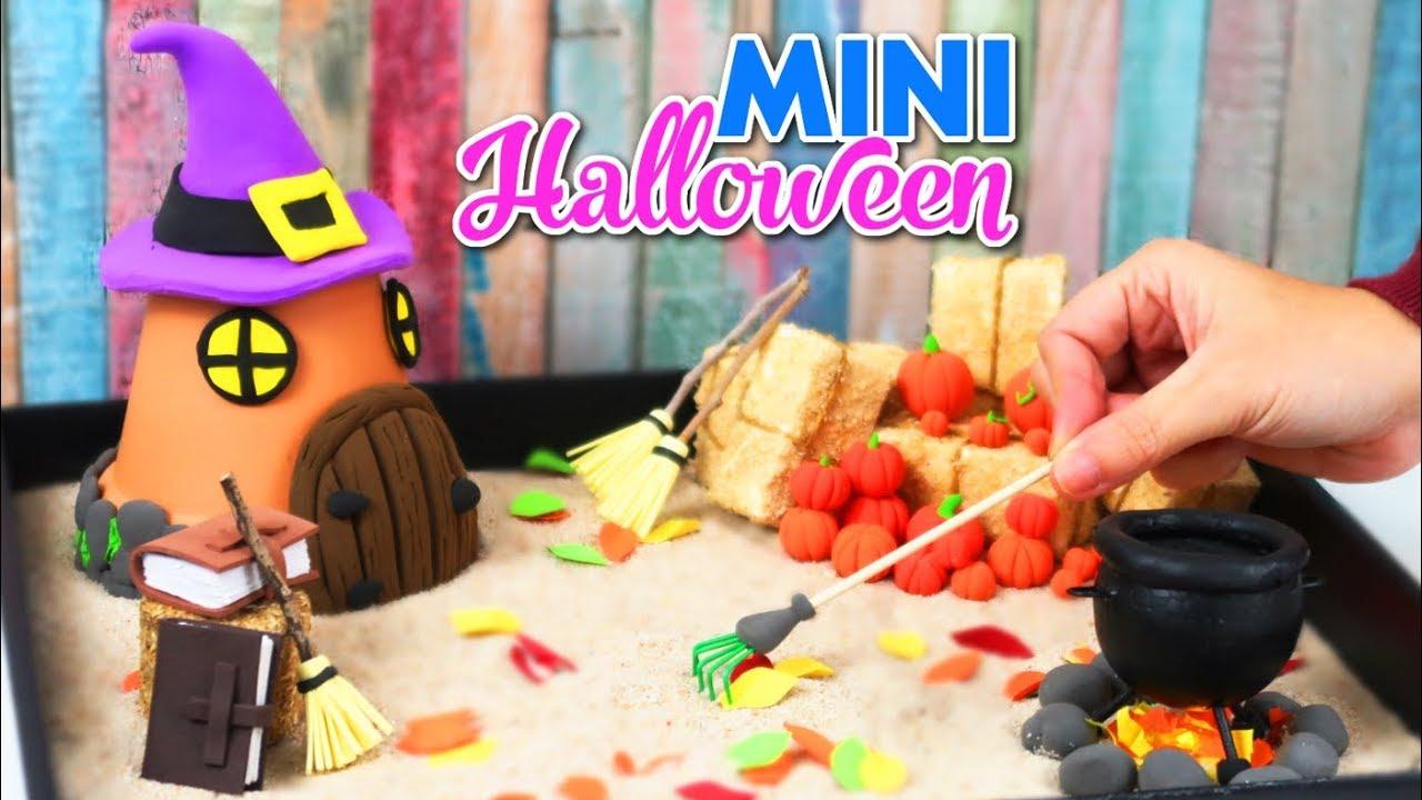 C mo hacer un jard n zen en miniatura de halloween - Hacer jardin zen ...