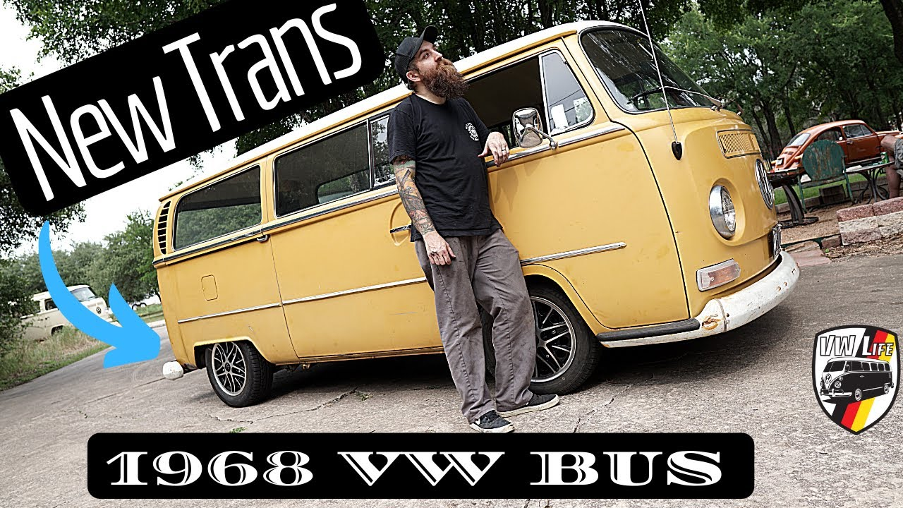 1968 VW Bus New Trans and Brakes! VW Life Shop Day