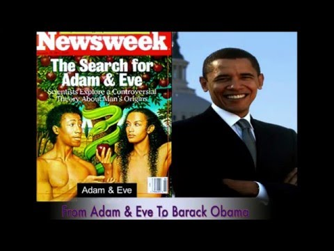 Black History - From Adam & Eve to Barack Obama