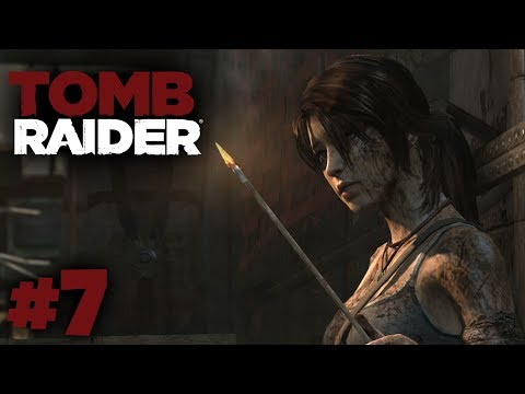 Tomb Raider (2013) - Part 7 Playthrough - Falling way to high