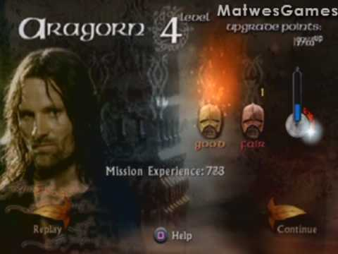 lord of the rings walkthrough playstation 2