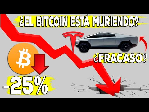 Urgente ¿El Bitcoin Se Muere? ¿Tesla Fracasó Con Su Pickup Cybertruck?