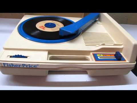 Fisher Price Turntable Record Player