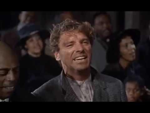 """Burt Lancaster """"Elmer Gantry"""" first scene"""