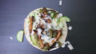 Delicious Poblano Pepper Tacos Recipe | SAM THE COOKING GUY