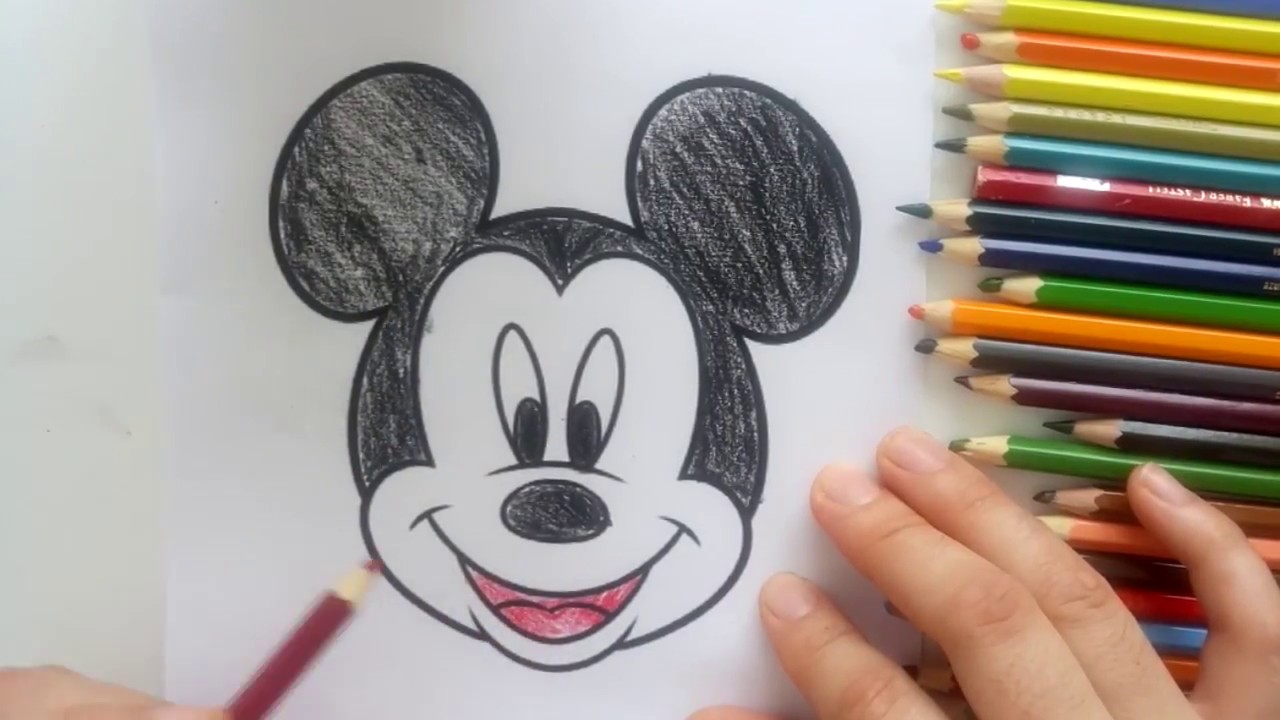 Mickey Mouse Boyama Serisi Mickey Mouse Boyama Oyunu Youtube