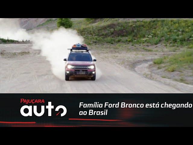 Família Ford Bronco está chegando ao Brasil